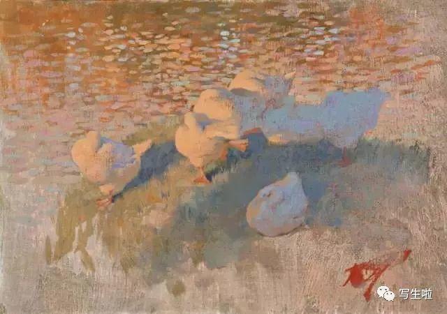 俄罗斯画家Bato Dugarzhapov风景作品