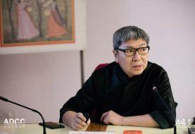 现场   梁建国代表中国设计师在世界艺术史大会上的发言:中国设计——在技术发展中的文化保存与社会意识