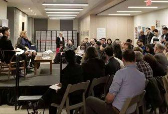 国际对话 中央美术学院美术教育研究中心、社会美育联盟与纽约华美协进社互送祝福